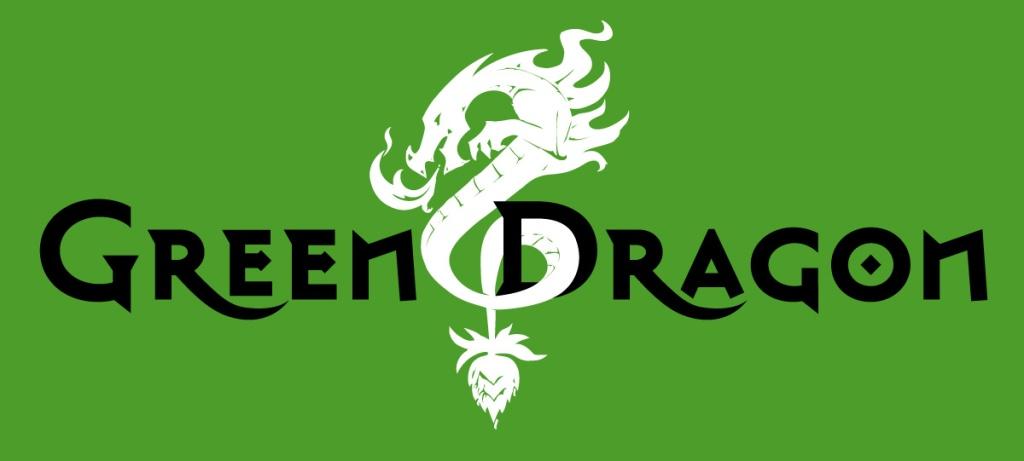 Green Dragon Brew Green Logo Full